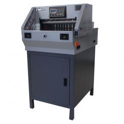 百度斯诺克直播屋GD-K480电动程控切纸机