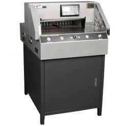 百度斯诺克直播屋GD-R490电动程控切纸机