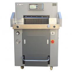 百度斯诺克直播屋GD-H560液压程控切纸机