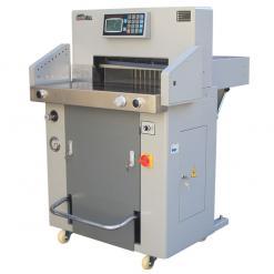 百度斯诺克直播屋GD-H690液压程控切纸机